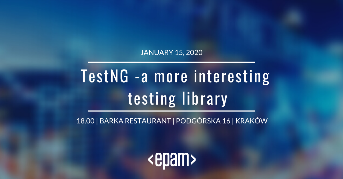 testng-a-more-interesting-testing-library